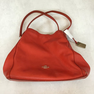 Primary Photo - BRAND: COACH STYLE: HANDBAG DESIGNER COLOR: RED SIZE: MEDIUM SKU: 194-194220-5649
