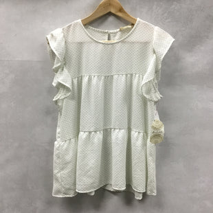 Primary Photo - BRAND: ALTARD STATE STYLE: TOP SHORT SLEEVE COLOR: WHITE GREEN SIZE: S OTHER INFO: NEW! SKU: 194-194225-2285
