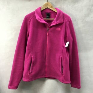 Primary Photo - BRAND: NORTHFACE STYLE: FLEECE COLOR: PINK SIZE: L OTHER INFO: FULL ZIP SKU: 194-194220-5457