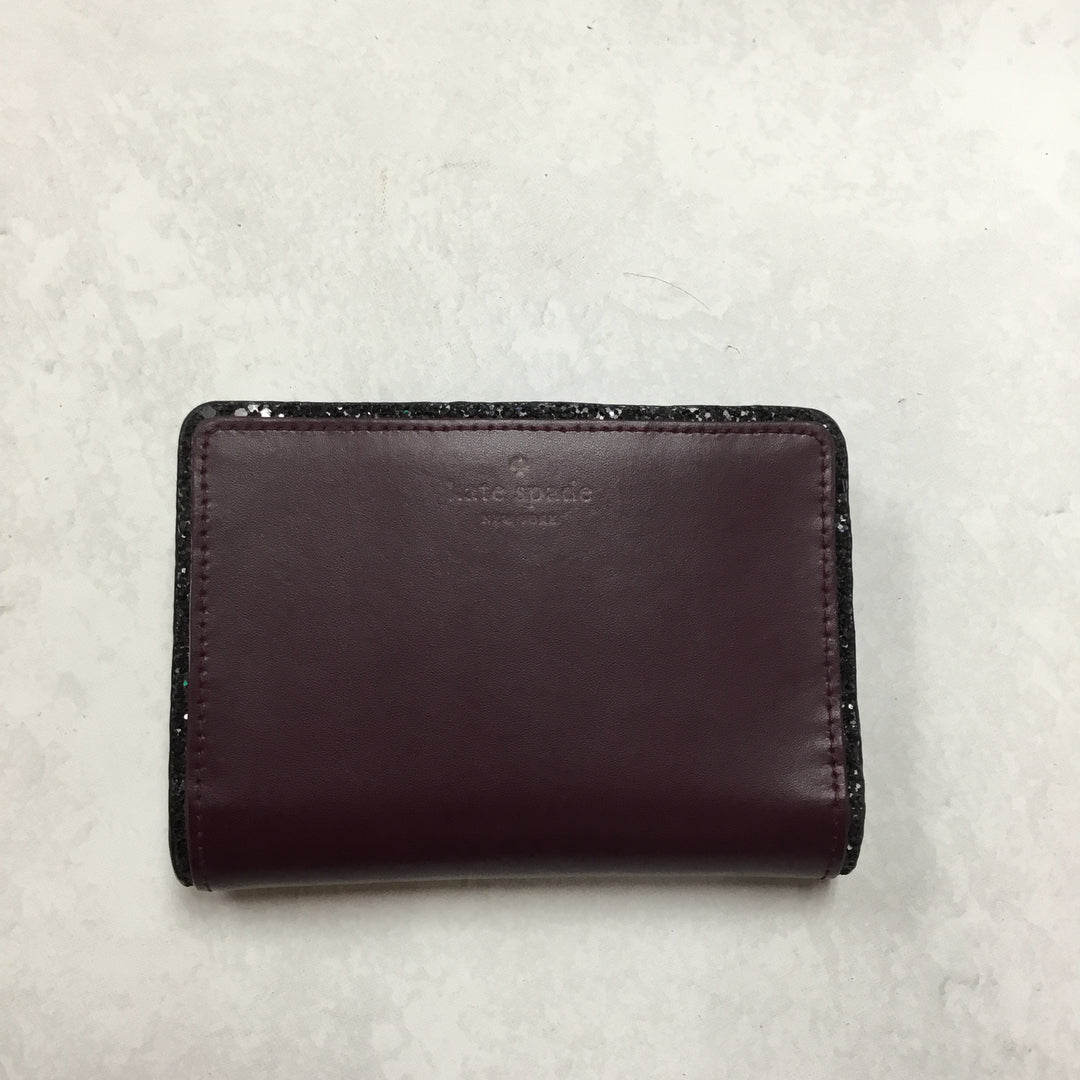 Primary Photo - BRAND: KATE SPADE <BR>STYLE: WALLET <BR>COLOR: MAROON <BR>SIZE: MEDIUM <BR>SKU: 194-19414-37658
