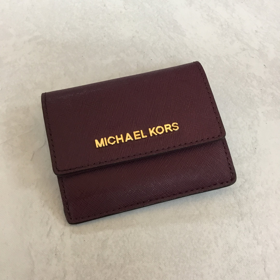 Primary Photo - BRAND: MICHAEL KORS <BR>STYLE: WALLET <BR>COLOR: PURPLE <BR>SIZE: SMALL <BR>SKU: 194-194224-476