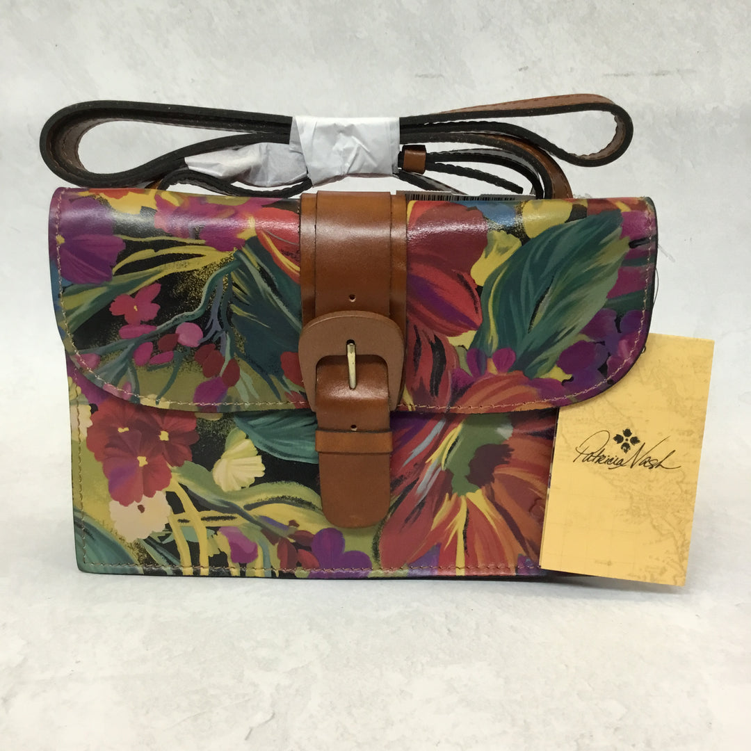 Primary Photo - BRAND: PATRICIA NASH <BR>STYLE: HANDBAG DESIGNER <BR>COLOR: FLORAL <BR>SIZE: SMALL <BR>OTHER INFO: NEW CITRUS SUNRISE TAURIANA <BR>SKU: 194-194183-22489