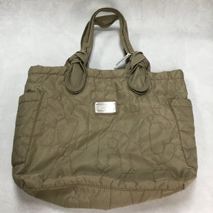 Primary Photo - BRAND: MARC BY MARC JACOBS STYLE: TOTE COLOR: WHEAT SIZE: LARGE SKU: 194-194229-2769