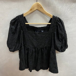 Primary Photo - BRAND: MAEVE STYLE: TOP SHORT SLEEVE COLOR: BLACK SIZE: S OTHER INFO: NEW! SKU: 194-194172-21817