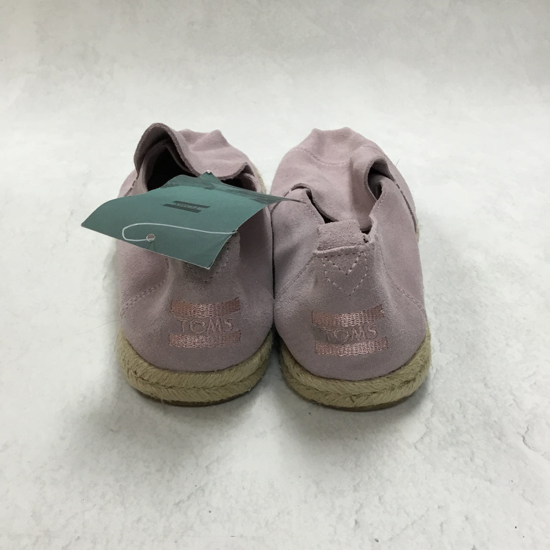Photo #2 - BRAND: TOMS <BR>STYLE: SHOES FLATS <BR>COLOR: LILAC <BR>SIZE: 9 <BR>OTHER INFO: NEW! <BR>SKU: 194-194167-31425
