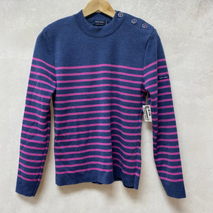 Primary Photo - BRAND:  SAINT JAMESSTYLE: SWEATER HEAVYWEIGHT COLOR: STRIPED SIZE: S OTHER INFO:NEW! SKU: 194-194167-32820