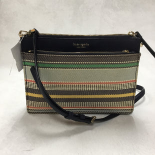 Primary Photo - BRAND: KATE SPADE STYLE: HANDBAG DESIGNER COLOR: MULTI SIZE: SMALL OTHER INFO: JACKSON BOARDWALK STRIPE 9.5 X 2 X 7 INCHESSKU: 194-194183-22632
