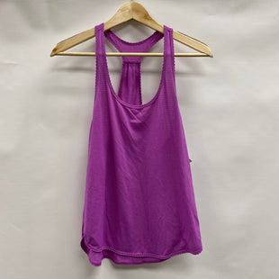 Primary Photo - BRAND: LULULEMON STYLE: ATHLETIC TANK TOP COLOR: PURPLE SIZE: 6 SKU: 194-194167-34145