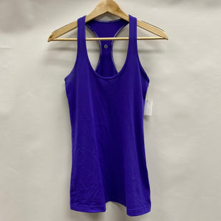 Primary Photo - BRAND: LULULEMON STYLE: ATHLETIC TANK TOP COLOR: PURPLE SIZE: 8 SKU: 194-194194-8029