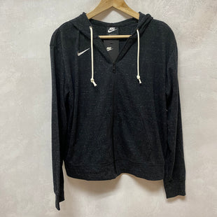 Primary Photo - BRAND: NIKE APPAREL STYLE: ATHLETIC JACKET COLOR: CHARCOAL SIZE: M SKU: 194-19414-38416