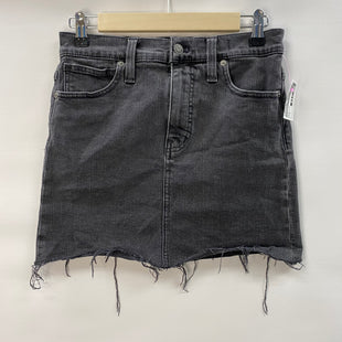 Primary Photo - BRAND: MADEWELL STYLE: SKIRT COLOR: BLACK DENIM SIZE: 2 SKU: 194-194167-34003