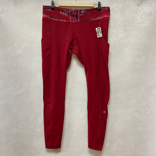 Primary Photo - BRAND: LULULEMON STYLE: ATHLETIC PANTS COLOR: RED SIZE: 12 SKU: 194-194220-6551