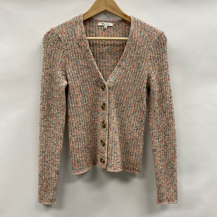 Primary Photo - BRAND: MADEWELL STYLE: SWEATER CARDIGAN LIGHTWEIGHT COLOR: MULTI SIZE: S SKU: 194-194167-33745