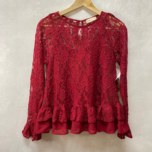 Primary Photo - BRAND: ALTARD STATE STYLE: TOP LONG SLEEVE COLOR: RED SIZE: S OTHER INFO: NEW! SKU: 194-194183-23914