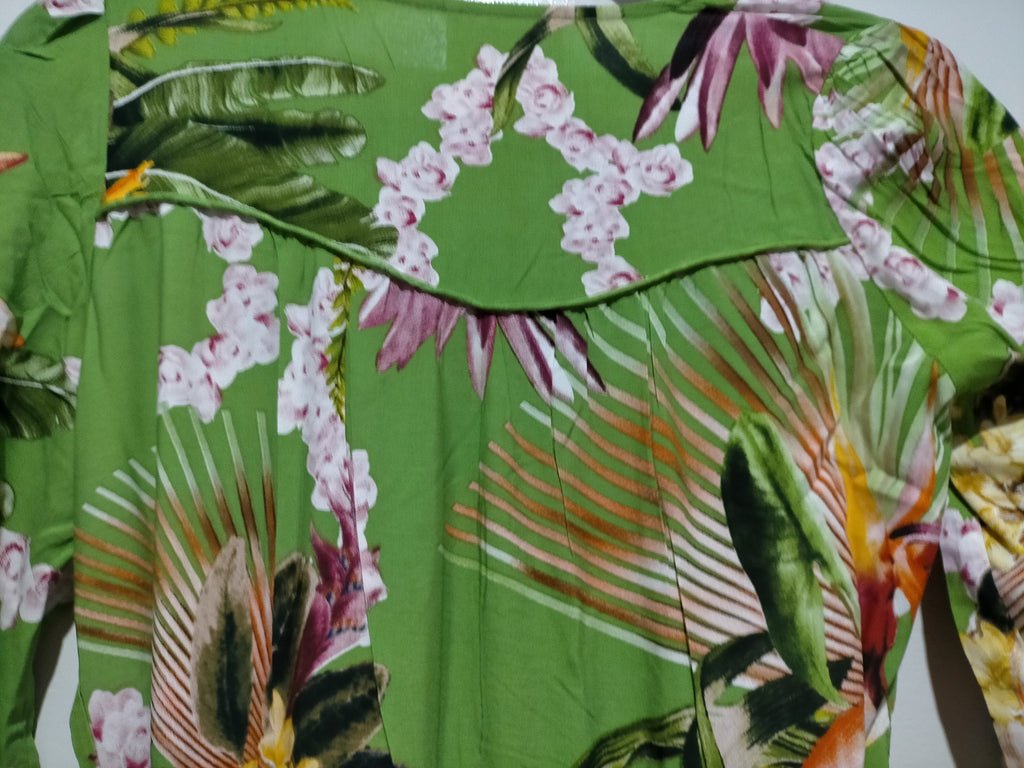Jaase Charlie Maxi Dress Birds of Paradise Print