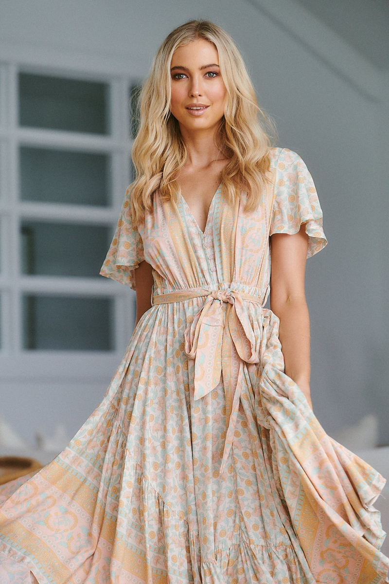 Taurus Maxi Dress Madeline Print by Jaase