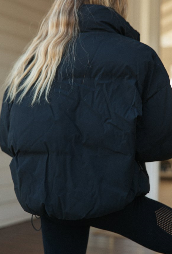 Luxe Puffer Ultimate Jacket - Black