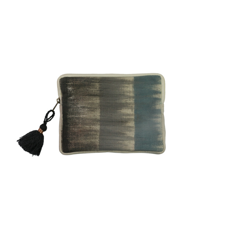 Slate Small Purse with Tassle - Kenzie Tenzie