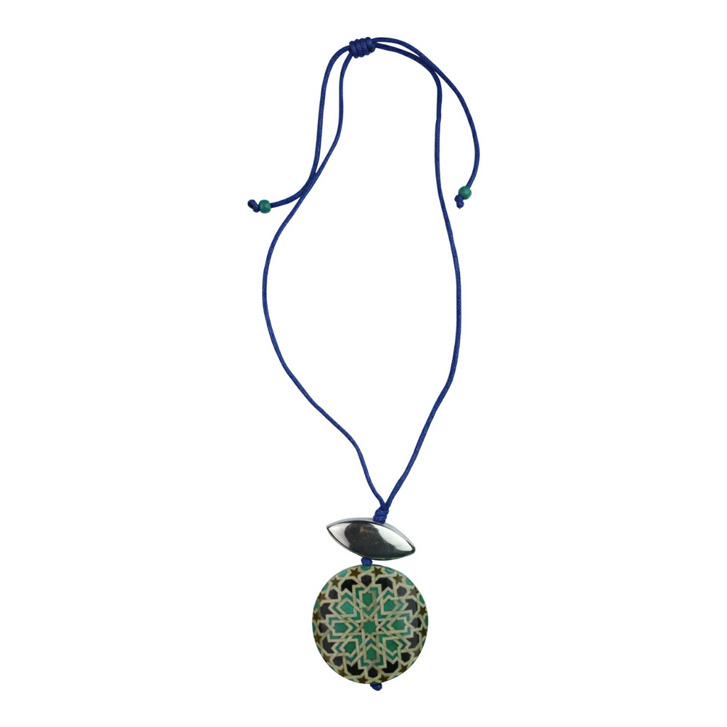 Koza Necklace - Blue - Kenzie Tenzie