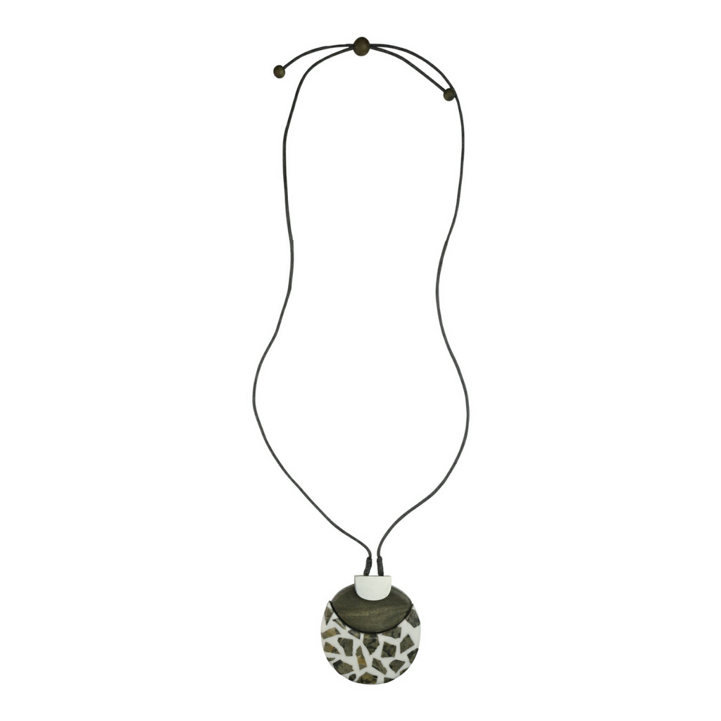 Granite Detail Necklace - Kenzie Tenzie