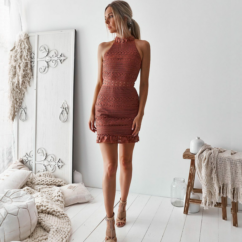 Two Sisters the Label Rivers Dress - Mauve - Kenzie Tenzie