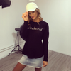 Weekend Long Sleeve Tee - Black - Kenzie Tenzie