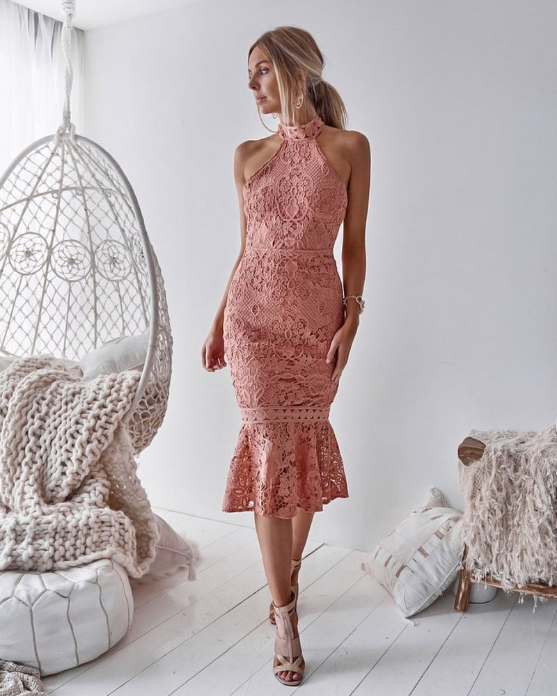 Two Sisters the Label Sonia Dress - Blush - Kenzie Tenzie