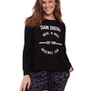 San Diego Long Sleeve Tee - Black