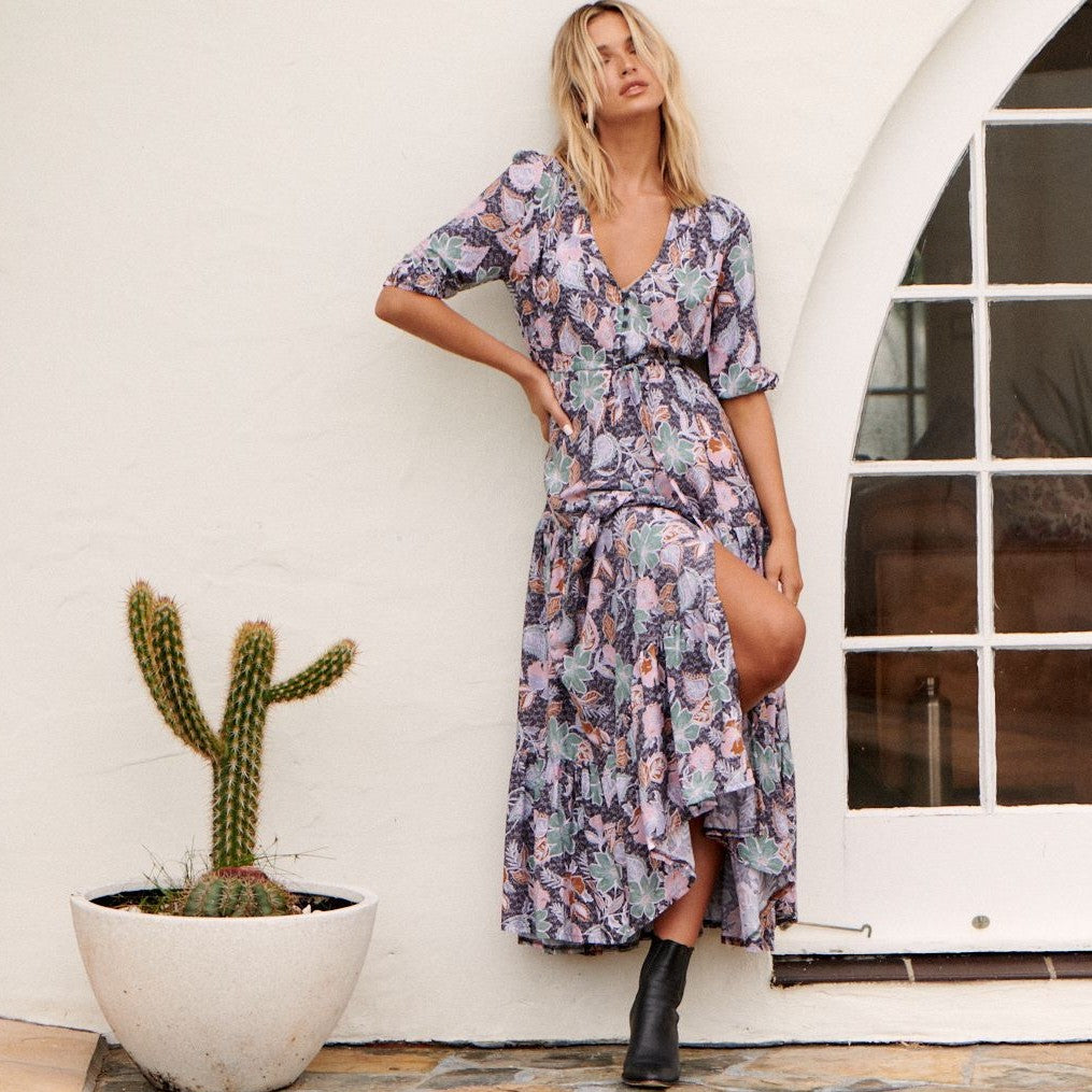 Tessa Maxi Dress Florence Print by Jaase