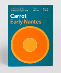 Organic Carrot seeds – Early Nantes variety