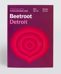 Organic Beetroot seeds – Detroit variety