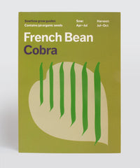 Organic French Bean seeds – Cobra variety