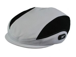 Daytona Golf Cap in White/Black