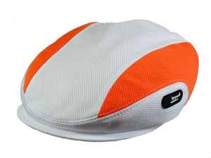 Daytona Golf Cap in White-Orange