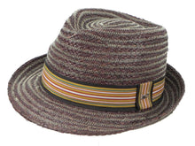 Load image into Gallery viewer, Cobra Raffia Trilby in Havana