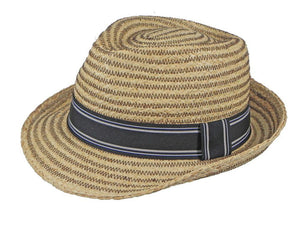 Cobra Raffia Trilby in Natural