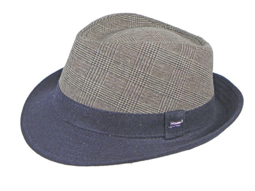 Buick Check Trilby in Sable