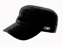 Load image into Gallery viewer, Trent Cadet Cap in Black
