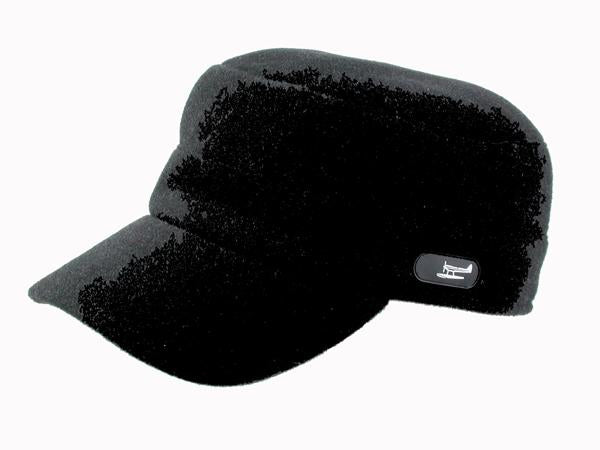 Trent Cadet Cap in Black