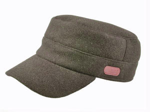 Trent Cadet Cap in Chocolate