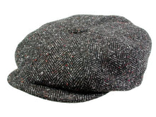 Load image into Gallery viewer, Hampton Newsboy Cap in Black