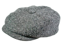 Load image into Gallery viewer, Hampton Newsboy Cap in Pewter