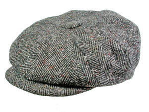 Hampton Newsboy Cap in Slate