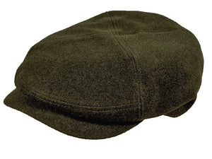 Bentley Flat Cap in Chocolate