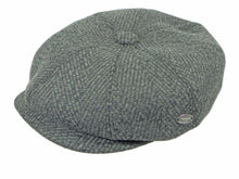 Load image into Gallery viewer, Lichfield Newsboy Cap in Black