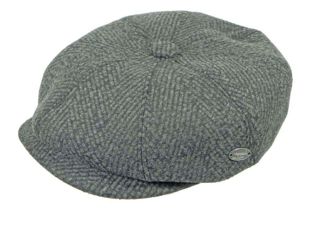 Lichfield Newsboy Cap in Black