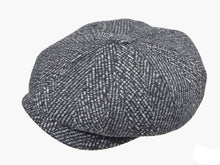 Load image into Gallery viewer, Lichfield Newsboy Cap in Pewter