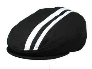 Tempo Golf Cap in Black/White