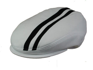 Tempo Golf Cap in White/Black