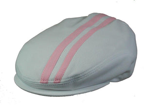 Tempo Golf Cap in White/Pink